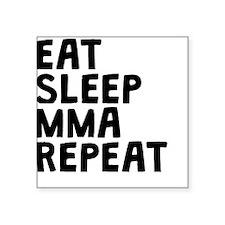 Eat Sleep MMA Repeat Sticker