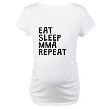 Eat Sleep MMA Repeat Shirt