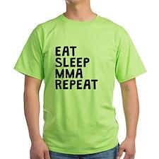 Eat Sleep MMA Repeat T-Shirt