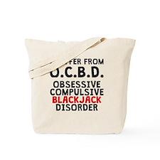 Obsessive Compulsive Blackjack Disorder Tote Bag