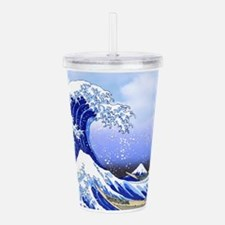 Surfs Up! Great Wave H Acrylic Double-wall Tumbler