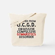 Obsessive Compulsive Gymnastics Disorder Tote Bag