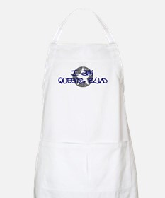 I am Queens Blvd - Blue BBQ Apron