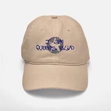 I am Queens Blvd - Blue Baseball Baseball Cap