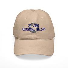 I am Queens Blvd - Blue Baseball Cap