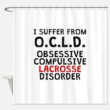 Obsessive Compulsive Lacrosse Disorder Shower Curt
