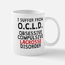 Obsessive Compulsive Lacrosse Disorder Mugs