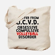 Obsessive Compulsive Volleyball Disorder Tote Bag