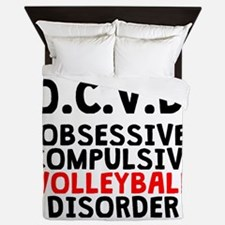 Obsessive Compulsive Volleyball Disorder Queen Duv