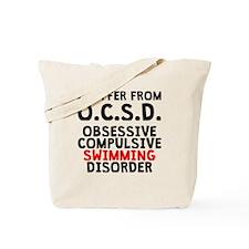 Obsessive Compulsive Swimming Disorder Tote Bag