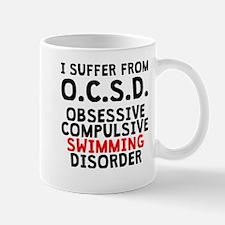 Obsessive Compulsive Swimming Disorder Mugs