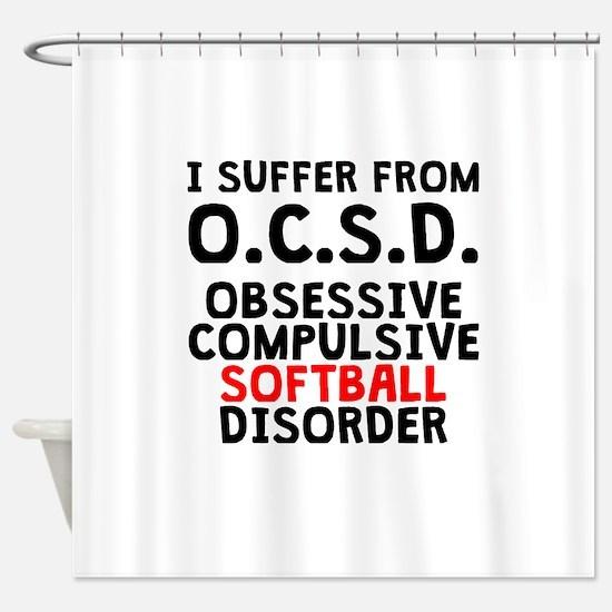 Obsessive Compulsive Softball Disorder Shower Curt