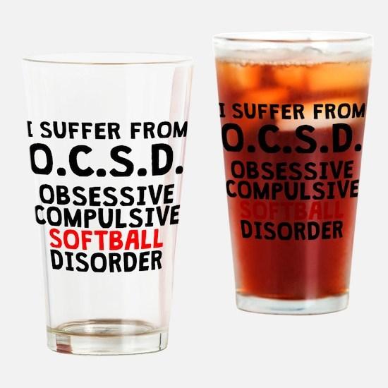 Obsessive Compulsive Softball Disorder Drinking Gl