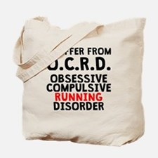 Obsessive Compulsive Running Disorder Tote Bag