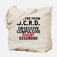 Obsessive Compulsive Rugby Disorder Tote Bag