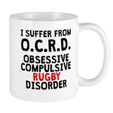 Obsessive Compulsive Rugby Disorder Mugs