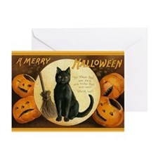 Black Cat Greeting Cards (Pk of 10)