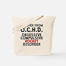 Obsessive Compulsive Hockey Disorder Tote Bag
