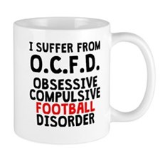 Obsessive Compulsive Football Disorder Mugs