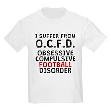 Obsessive Compulsive Football Disorder T-Shirt