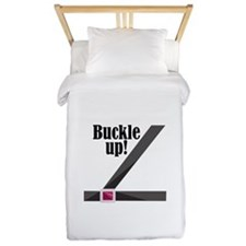Buckle Up! Twin Duvet