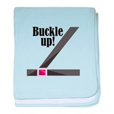 Buckle Up! baby blanket