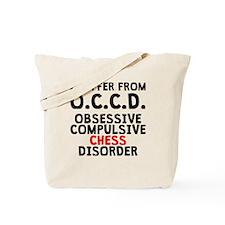 Obsessive Compulsive Chess Disorder Tote Bag