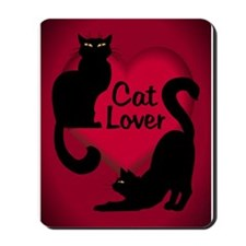 cat lover Mousepad
