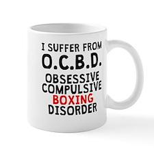 Obsessive Compulsive Boxing Disorder Mugs