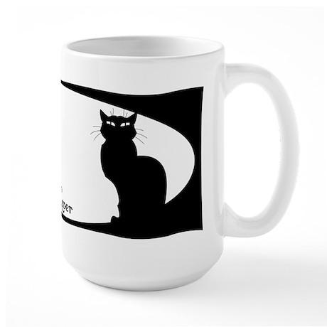 cat lover Large Mug