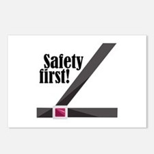Safety First! Postcards (Package of 8)