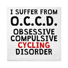 Obsessive Compulsive Cycling Disorder Queen Duvet