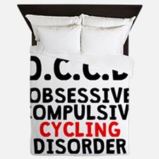 Obsessive Compulsive Cycling Disorder Queen Duvet