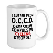 Obsessive Compulsive Cycling Disorder Mugs