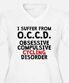 Obsessive Compulsive Cycling Disorder Plus Size T-
