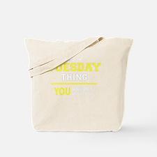 Unique Tuesday Tote Bag