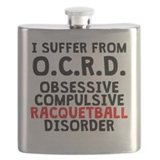 Obsessive Compulsive Racquetball Disorder Flask