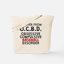 Obsessive Compulsive Baseball Disorder Tote Bag