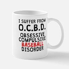 Obsessive Compulsive Baseball Disorder Mugs