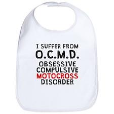Obsessive Compulsive Motocross Disorder Bib
