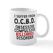 Obsessive Compulsive Billiards Disorder Mugs