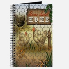 Home Sweet Home Chickens and Roosters Journal