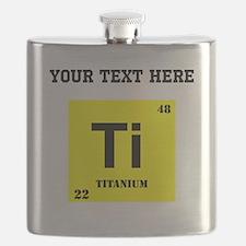 Custom Titanium Flask