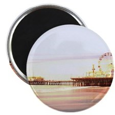 Santa Monica Pier Sunrise Magnets