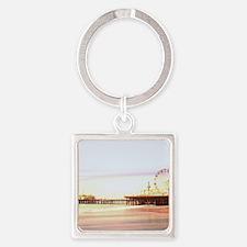Santa Monica Pier Sunrise Keychains