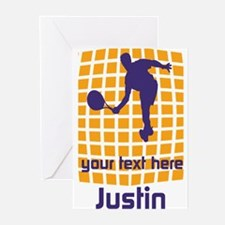 Cool Sport Tennis Greeting Cards (Pk of 20)