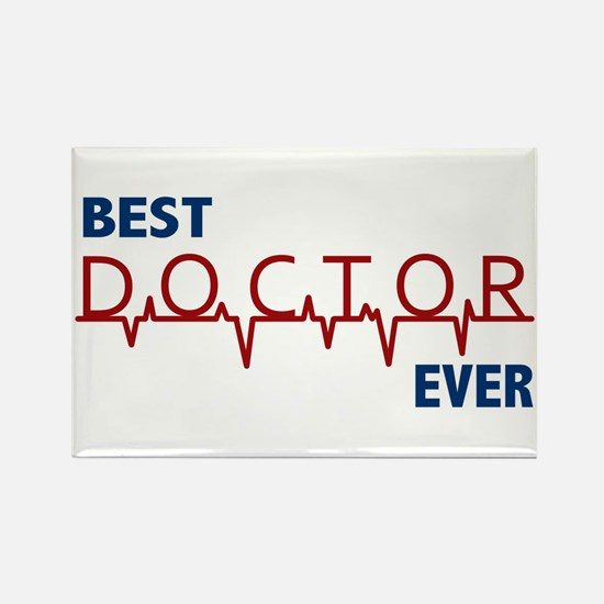Best Doctor Ever Rectangle Magnet