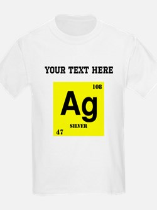 Custom Silver T-Shirt
