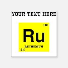 Custom Ruthenium Sticker