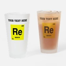 Custom Rhenium Drinking Glass